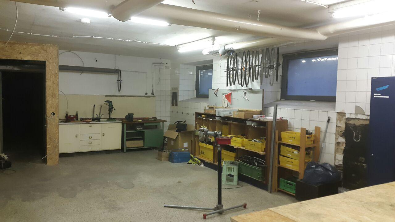 Werkstatt neu
